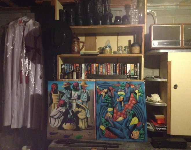 Ray's work room