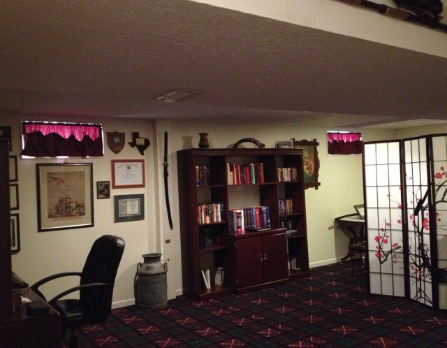 Ray's man cave