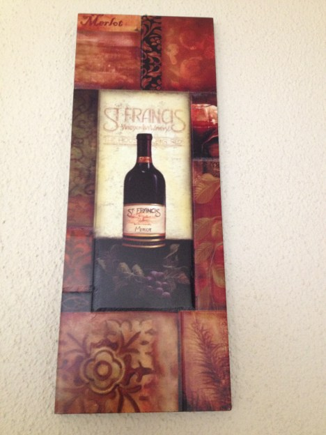 Wine pic for dining room