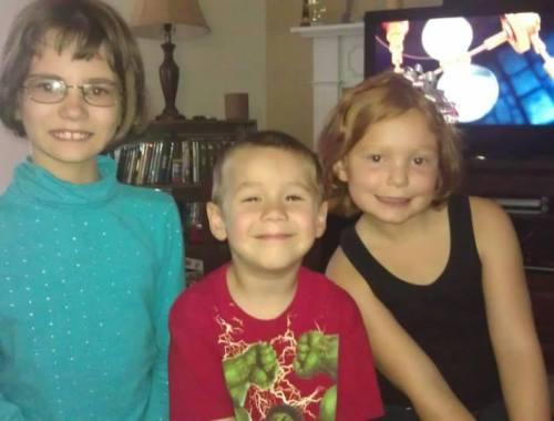 Our precious grandkids Annabelle, Jacob & Violet