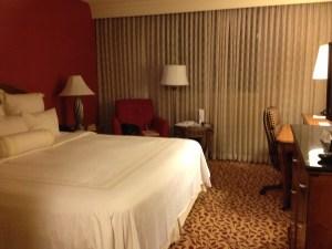My hotel room, LA