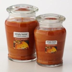 Pumpkin scented candles - Pinterest
