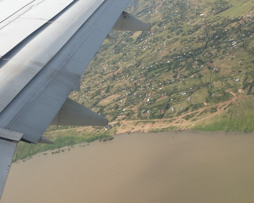 Lake Victoria, on plane from Kisimu to Nairobi
