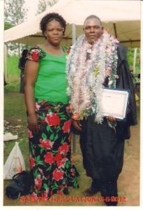 Pastor Rose & Patrick Mudenyo