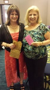 Me & author/speaker  Anita Andreas