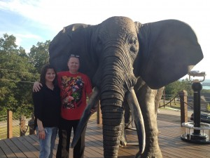 me & Ray by elephant Branson, MO