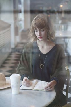 Image resource: Pinterest-woman and coffee