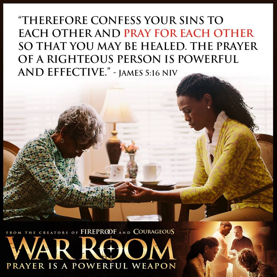 Elizabeth S Prayer In War Room