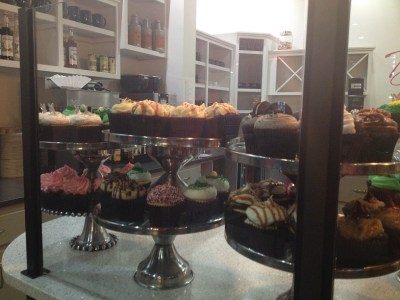 cupcakes at Decadent