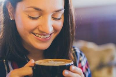 woman with coffee Source: Lightstock