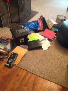 My office clutter