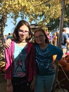 Annabelle & Violet at Louisburg Cider Mill