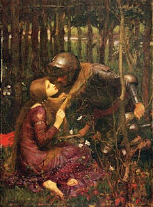La belle dames sans merci by John William Waterhouse