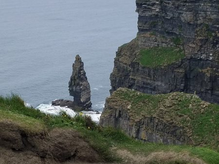 Cliffs of Moher rock formation