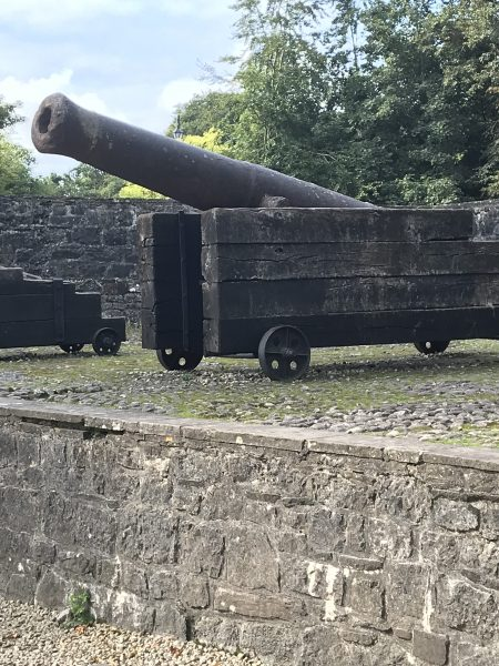 cannon at Bunratty Castle