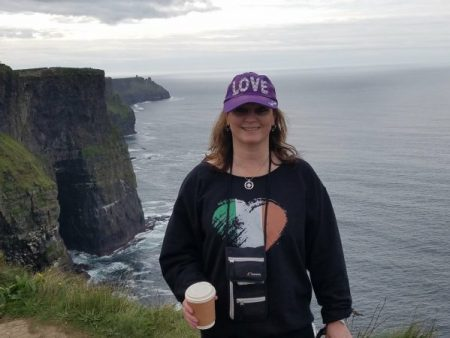 Me at Cliffs of Moher, Ireland