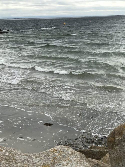 Atlantic Ocean beach near Galway