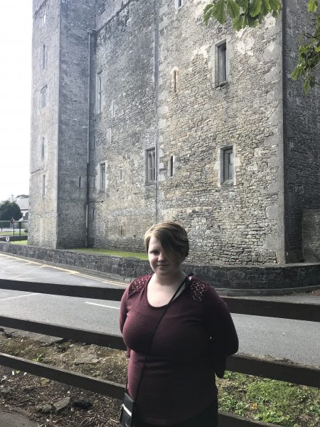 Leah by Bunratty Castle, Ireland