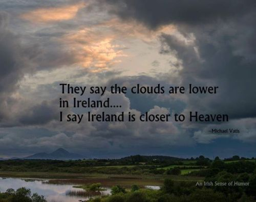 Ireland and heaven