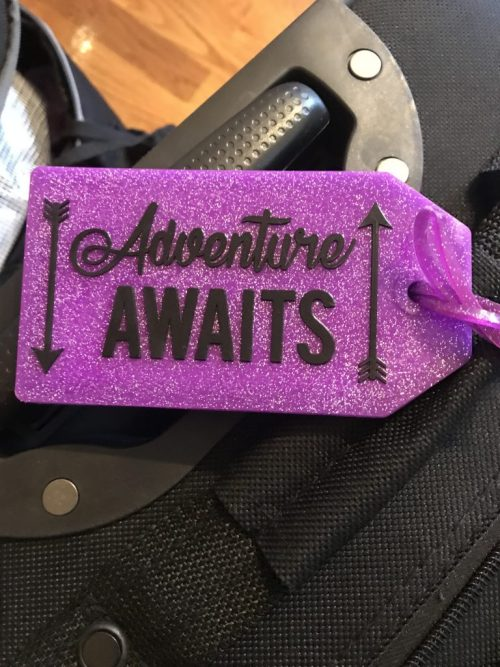 Tags for our luggage