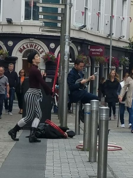 Galway street mime