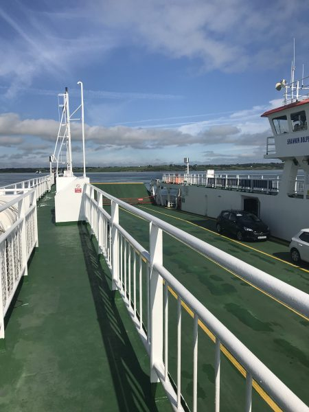 back of ferry