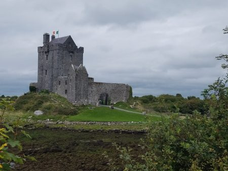you see castles and ruins all over Ireland