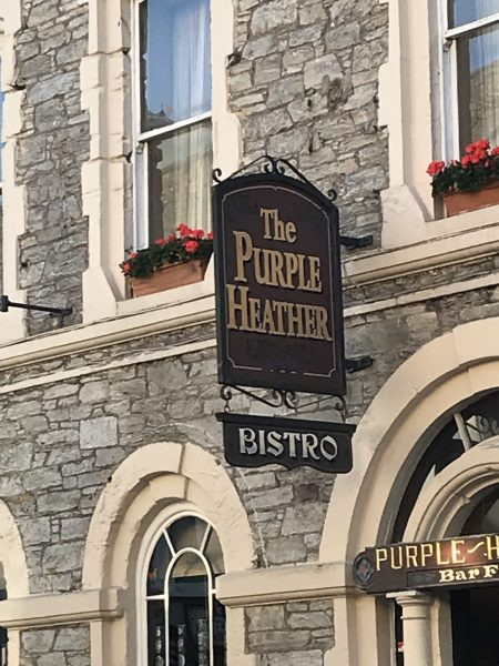 The Purple Heather bistro