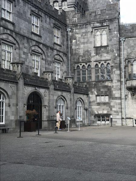 Kilkenny Castle court
