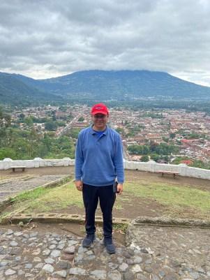 Allan at Cerra de la Cruz