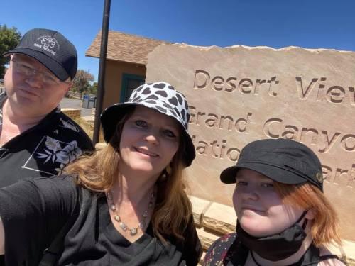 Ray, me, and Leah at Grand Canyon