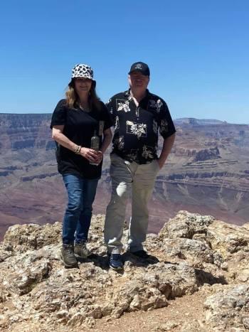 me and Ray, Grand Canyon