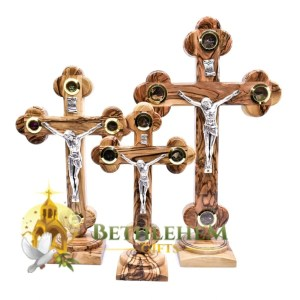 Budded Base Samples Crucifix