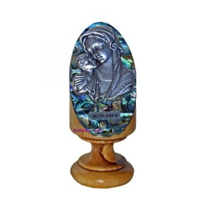 Pedestal Abalone Mother and Child