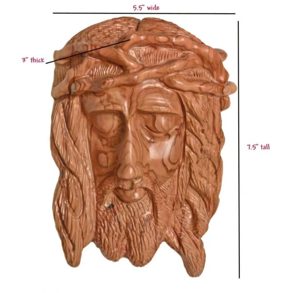 Holy Face of Jesus with Crown of Thorns