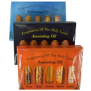 Anointing Oil Fragrances from Bethlehem