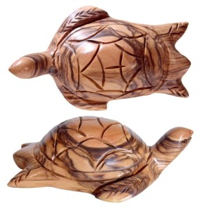 Hand crafted Olive Wood Turtle from Bethlehem