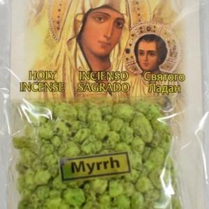 Myrrh Incense of the Holy Land