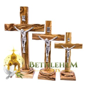 Latin Standing Crucifix from Bethlehem