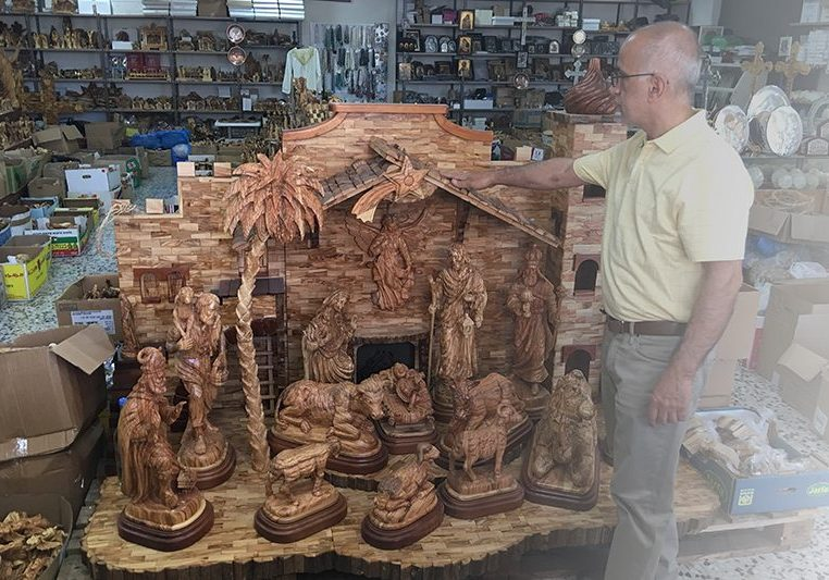 Huge Nativity Set