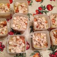 Tweet: Made my husband 9 quarts of home made chicken nood…