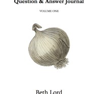 Beth Lord announces her new book The Self Care Q&A Journal