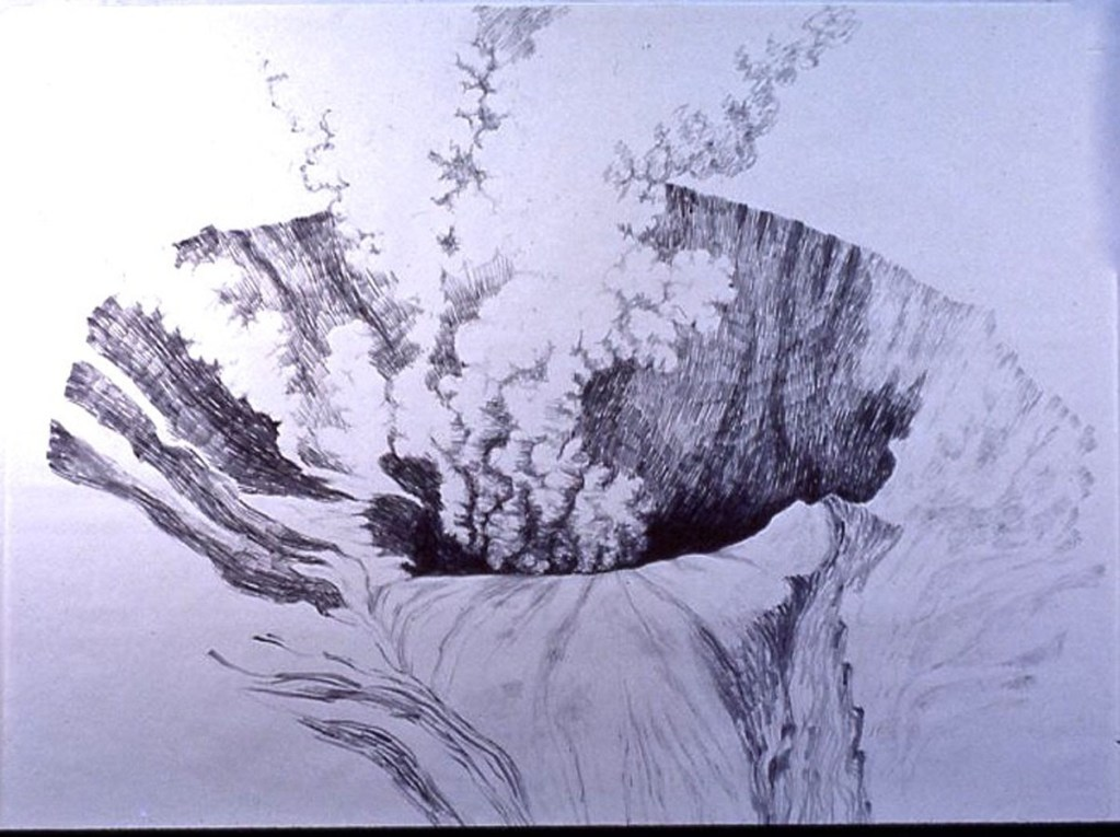 Caldera drawing