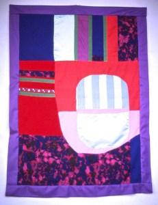 Blue, Pink, Purple banner
