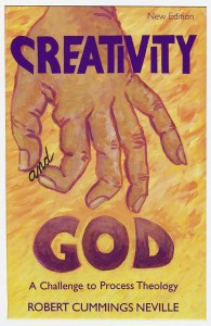 "Book Cover: ""Creativity and God"""