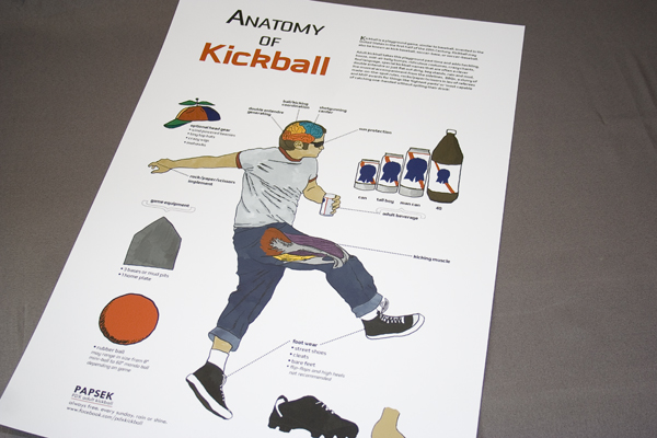 Kickball Anatomy Promo Poster
