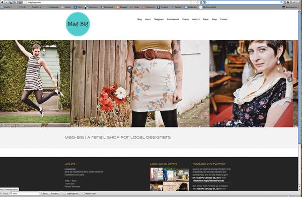 Mag-Big Wordpress site