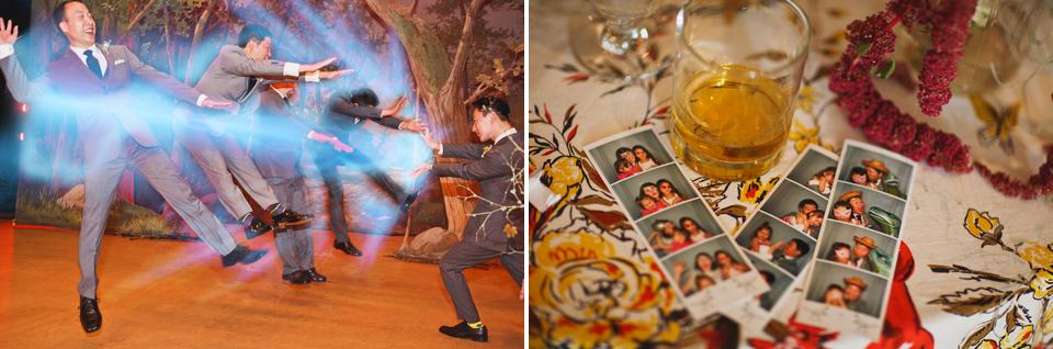 Dinosaurs + Manga Scottish Rite Wedding