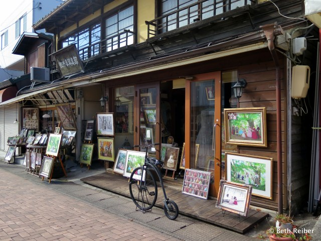 Karuizawa's main shopping street is lined with boutiques, galleries and cafes