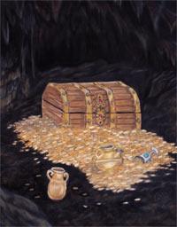 Treasure Chest Painting